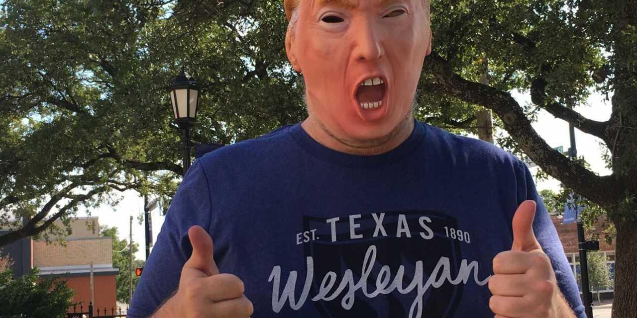 Does Wesleyan love Trump?