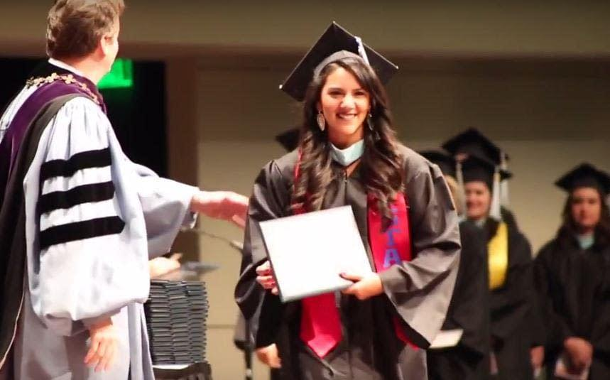 Graduation focuses on the idea of continuing education