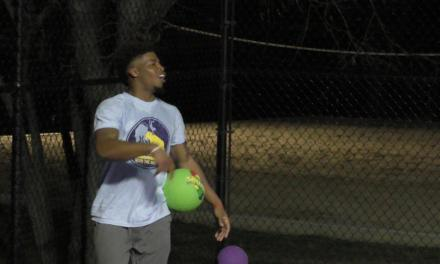 Stella Residents Get Fired Up at Dodgeball Event