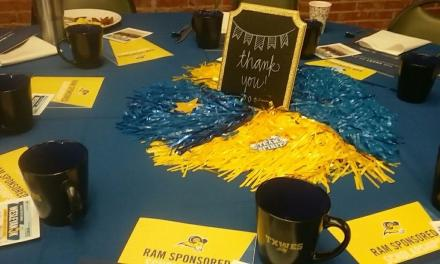 Thank you breakfast focuses on university advancements
