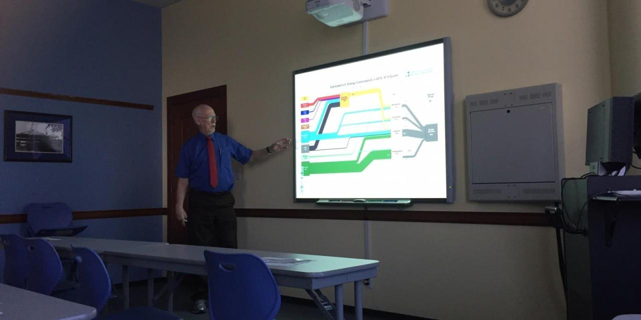 Chemistry professor says climate change is inevitable