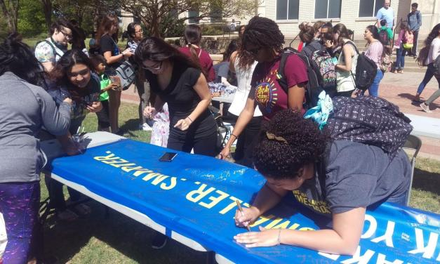 Students thank alumni donors at TAG Day event