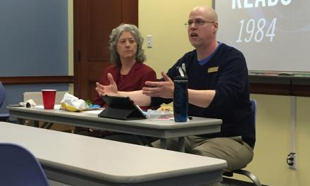 "West Library hosts ""1984"" panel discussion"