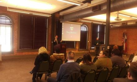 Slabach hosts first 2020 Town Hall meeting of 2018