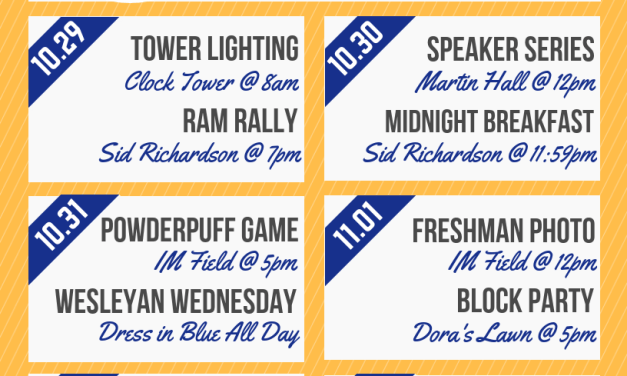 SGA announces plans for Homecoming Week
