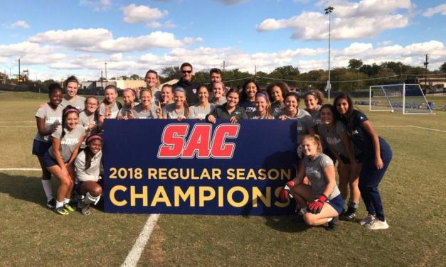 Women's soccer scores first SAC title