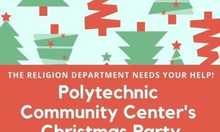 Wesleyan sponsors Polytechnic Christmas party