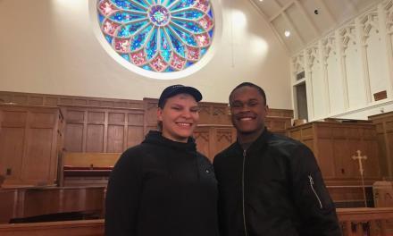 Wesleyan students experience Ash Wednesday