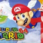 Mario 64 cover art
