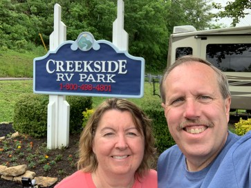 069-Creekside RV Park Our Home in Pigeon Forge