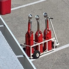 These are the gas cans.