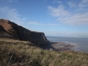 The cliffs near Robin Hood's Bay