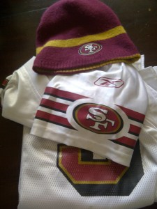 Some of my 49ers stuff!