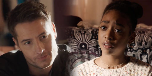 On last night's season finale of NBC's acclaimed hit series This Is Us, young Tess (played by Eris Baker) confided in her Uncle Kevin (Justin Hartley) that she's struggling with a million questions about finding her authentic self since coming out recently.