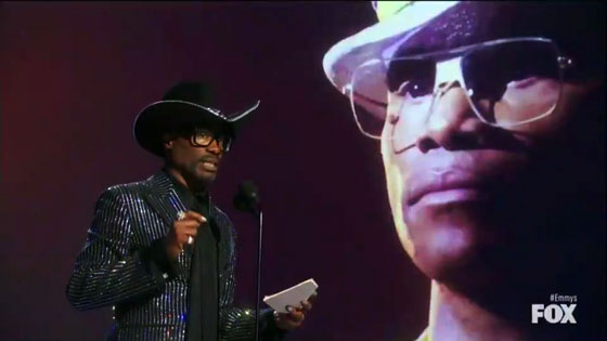Billy Porter wins the Emmy Award for Best Actor in a Leading Role - Drama for 'POSE;