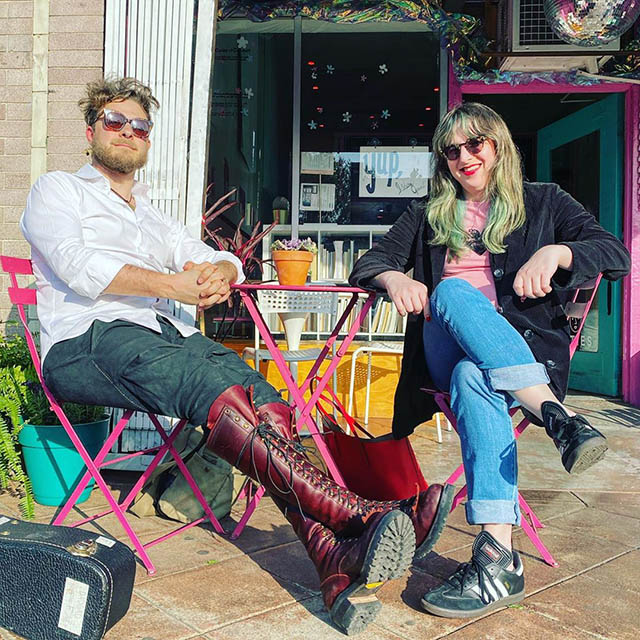 Benjamin Scheuer and Samantha Williams in Los Angeles