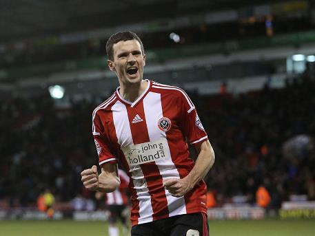 Jamie Murphy. Courtesy of Sheffield United
