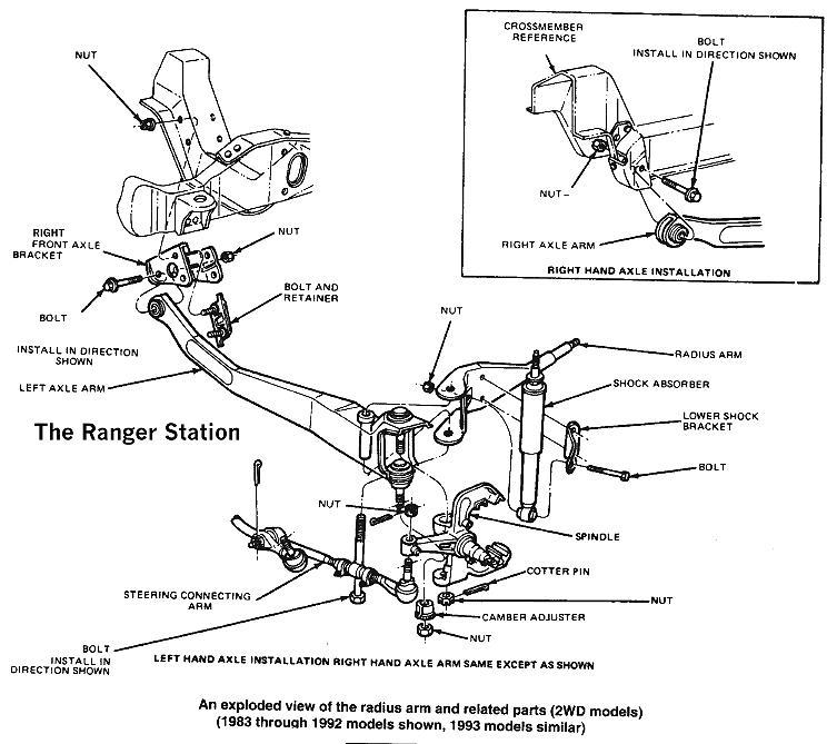 96 Ford Explorer Front End Parts Diagram