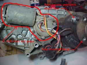 Rebuilding A Ford Transfer Case Shift Motor : The Ranger Station