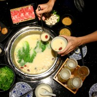 Food Review: Beauty in The Pot @ One KM Mall | One of the best Collagen Soup Steamboat