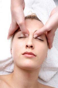 acupression yeux