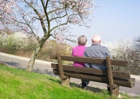 Älteres Paar, Beziehungskrise