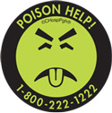 Mr. Yuk, symbol for the Pittsburgh Poison Control Center