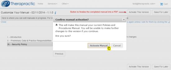 Screenshot - TP - Activate