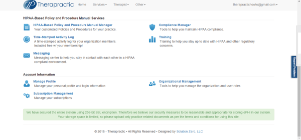 Screenshot 1 - Click Org Mgt