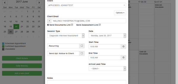 Screenshot 10 - Check mark Client Emails