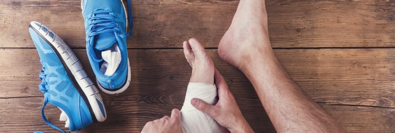 ankle sprain xray