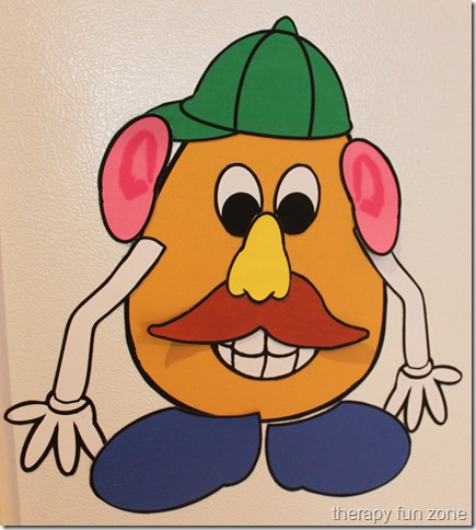 Magnetic Mr Potato Head