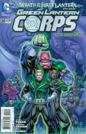 Green Lantern Corps Vol 3 #20 Regular Andy Kubert