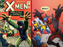 All-New X-Men #33 Incentive Pasqual Ferry Deadpool 75th Anniversary Photobomb Variant