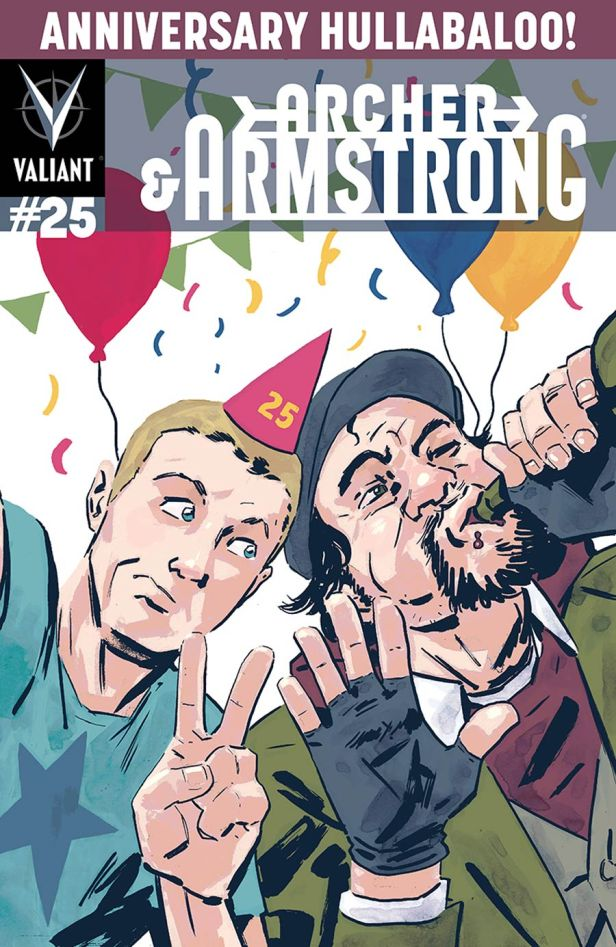 Archer & Armstrong Vol 2 #25 Cover E Incentive Michael Walsh Variant