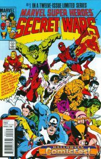 HCF 2014 Marvel Super Heroes Secret Wars #1
