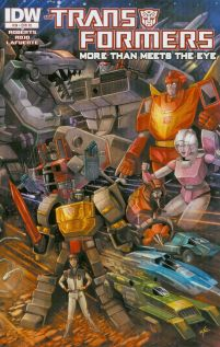 Transformers More Than Meets The Eye #34 Cover C Incentive Ken Christiansen 30th Anniversary Variant