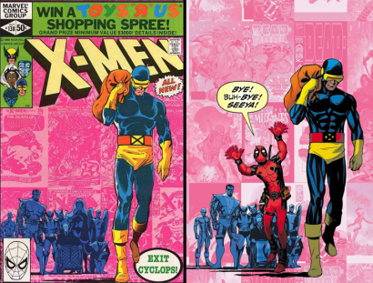 Uncanny X-Men (2013) #27 Incentive Mike McKone Deadpool 75th Anniversary Photobomb Variant