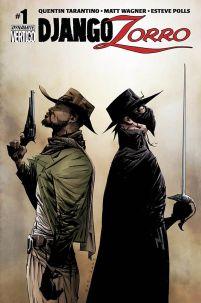 Django Zorro #1 Cover A Regular Jae Lee