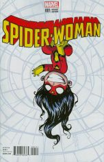Spider-Woman Vol 5 #1 Cover B Variant Skottie Young Baby