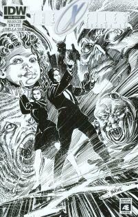 X-Files Season 10 #18 Cover C Incentive Tom Mandrake Artists Edition Variant