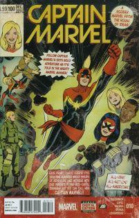 Captain Marvel Vol 7 #10 David Lopez