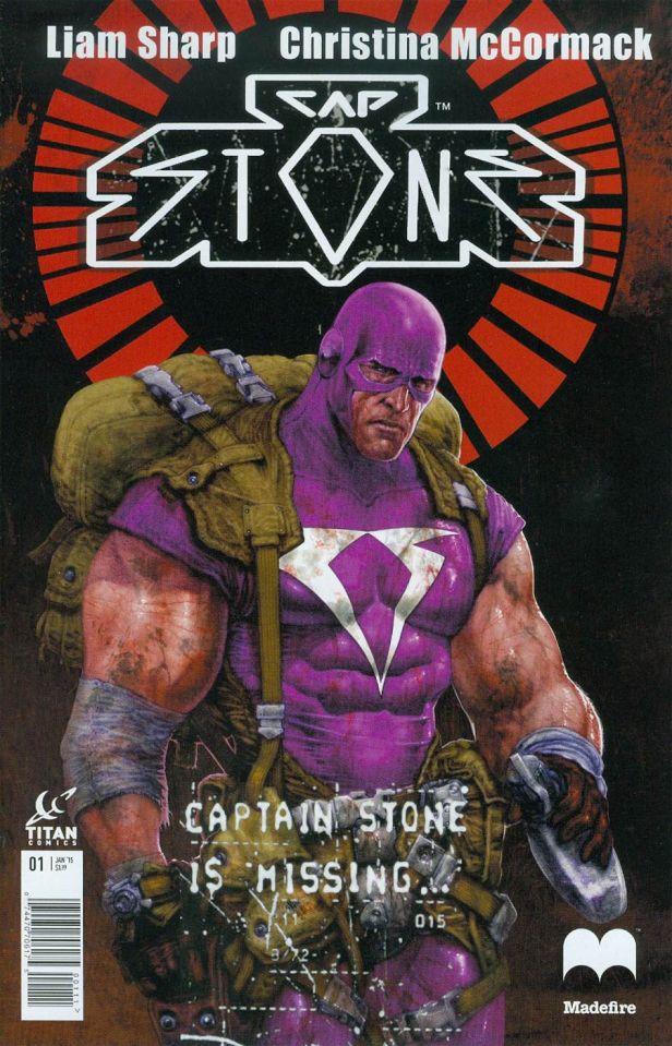 Captain Stone #1 Liam Sharp