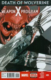 Death Of Wolverine Weapon X Program #5 Salvador Larroca