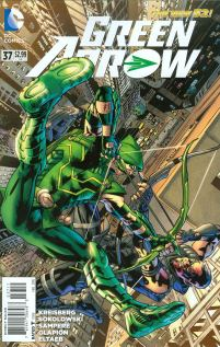 Green Arrow Vol 6 #37 Brian Hitch