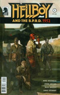 Hellboy And The BPRD 1952 #1 Cover A Regular Alex Maleev