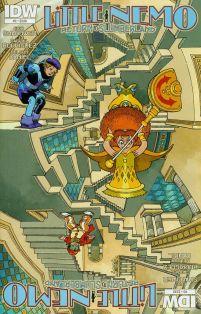 Little Nemo Return To Slumberland #3 Cover A Regular Gabriel Rodriguez