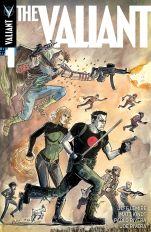 The Valiant #1 Cover D Incentive Jeff Lemire & Matt Kindt Interlocking Variant