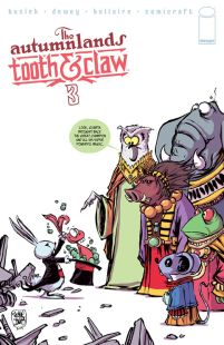 Autumnlands Tooth & Claw #3 Cover B Skottie Young