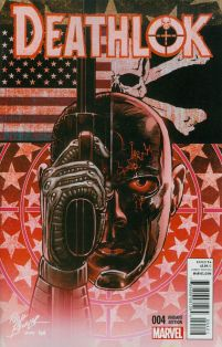 Deathlok Vol 5 #4 Cover B Incentive Rich Buckler Variant